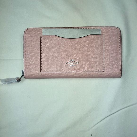 Coach Handbags - Pink Coach Wallet